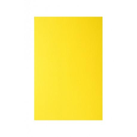 """Обложка для переплета картон """"глянец"""" А4, желтый (100 шт)"""