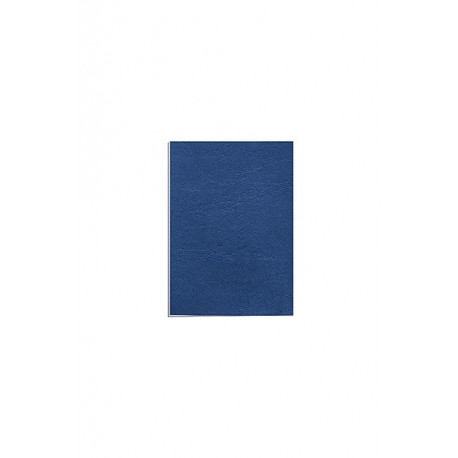 """Обложка для переплета картон """"кожа"""" А4, голубой (100 шт)"""