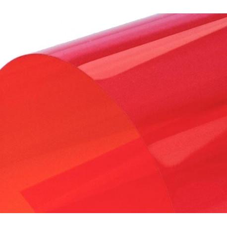 Обложка для переплета пластик прозрачный А4, красный 150 мкн (100 шт)