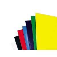 Обложка для переплета пластик непрозрачный А4, серый (50 шт)