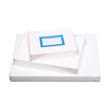 Пакетная пленка для ламинаторов 75х108 мм, 100 мкн (100 шт.) глянцевая