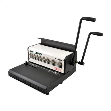 Переплетчик металлической пружиной BULROS K2000