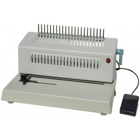 Переплетчик на пластиковую пружину Office Kit B2122E электрический