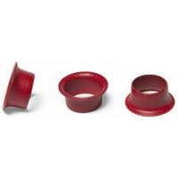 Кольца Пикколо (Piccolo) диаметр 5,5 мм (1 кг) красные, Китай